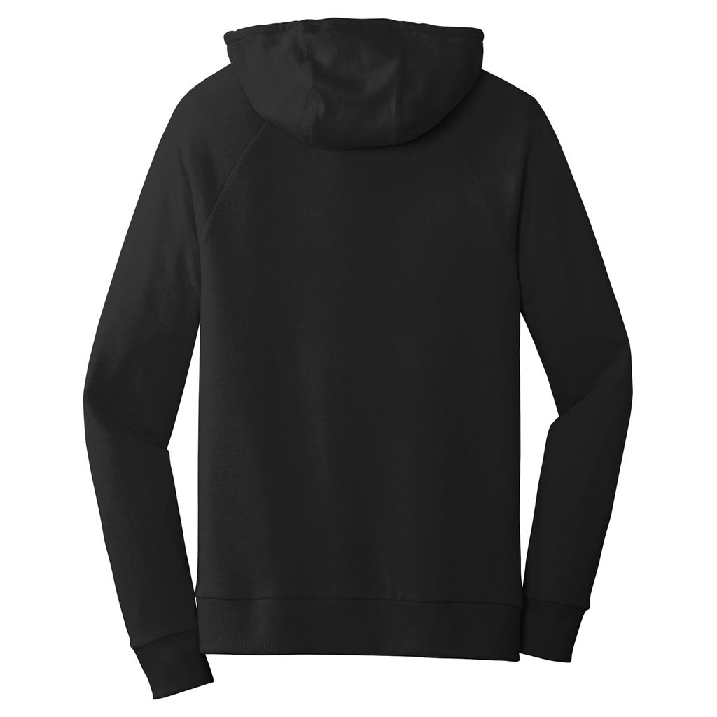 Alternative Apparel Men's Black Vintage Heavy Knit Weekender Zip Hoodie