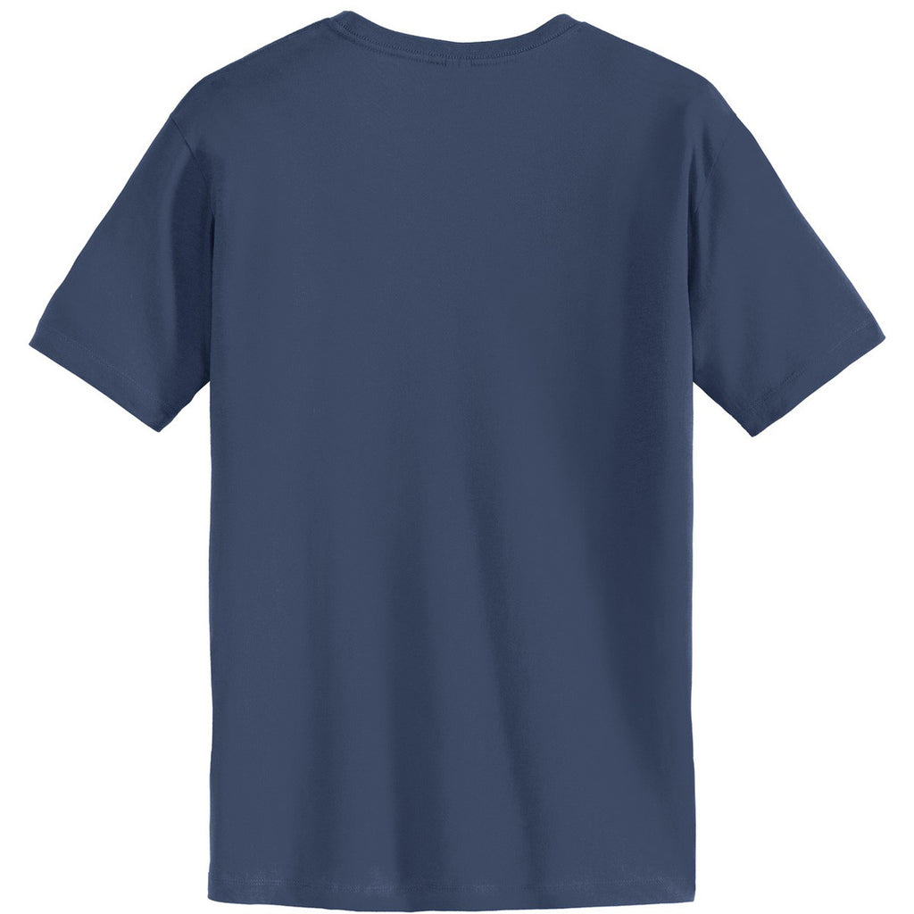 Alternative Men's Light Navy Heirloom Crew T-Shirt