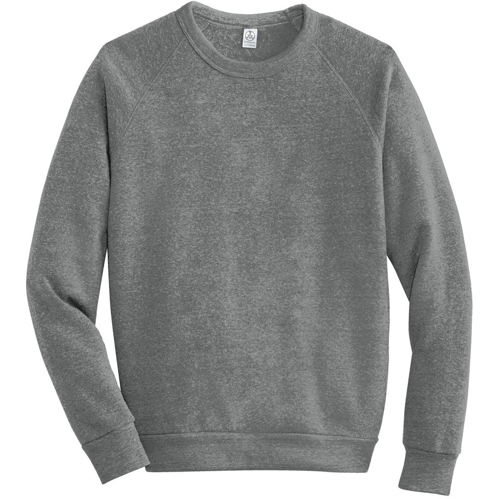 0ffeef62653a Alternative Apparel Men s Eco Grey Champ Eco-Fleece Sweatshirt. ADD YOUR  LOGO