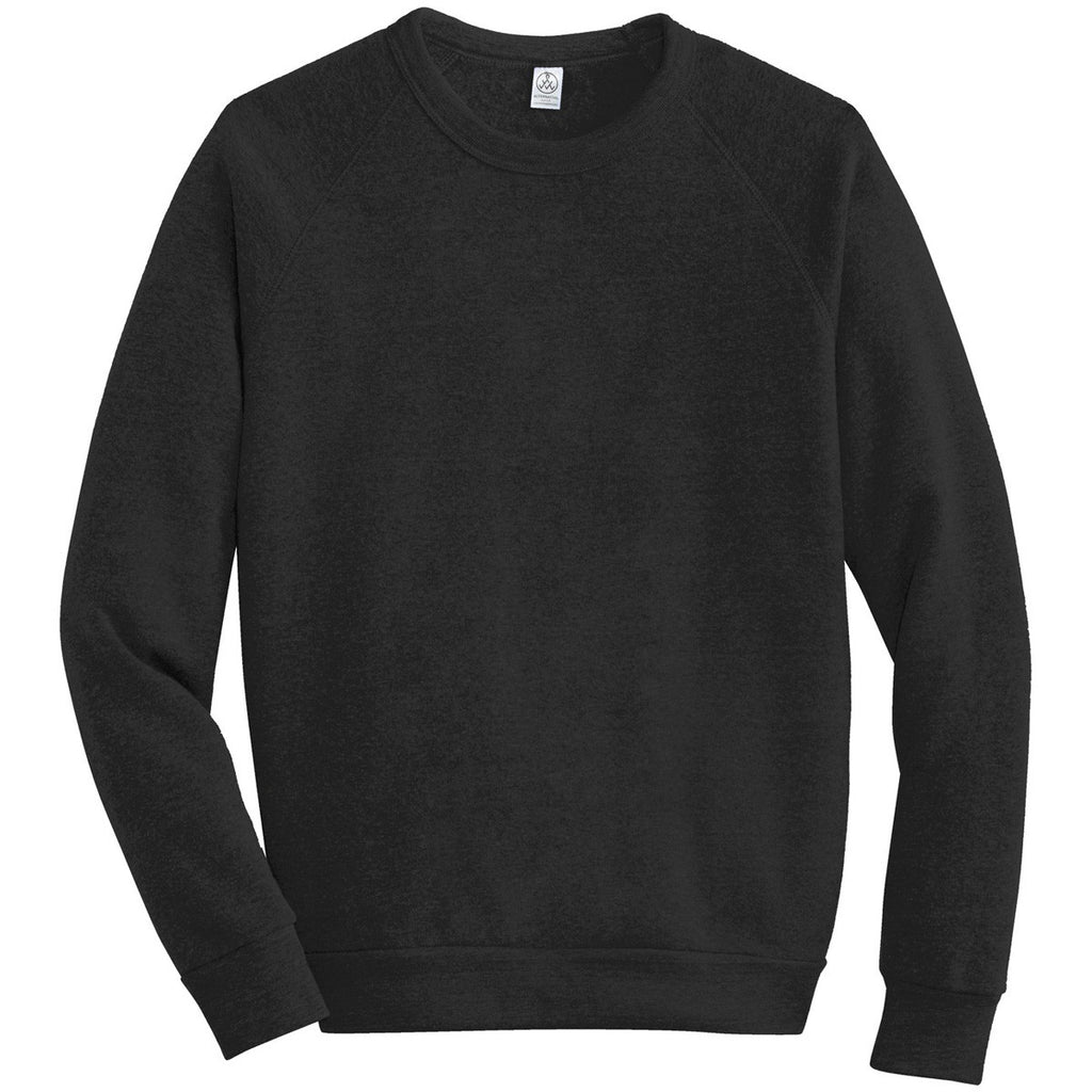 8a7e71c442e6 Alternative Apparel Men s Eco True Black Champ Eco-Fleece Sweatshirt. ADD  YOUR LOGO