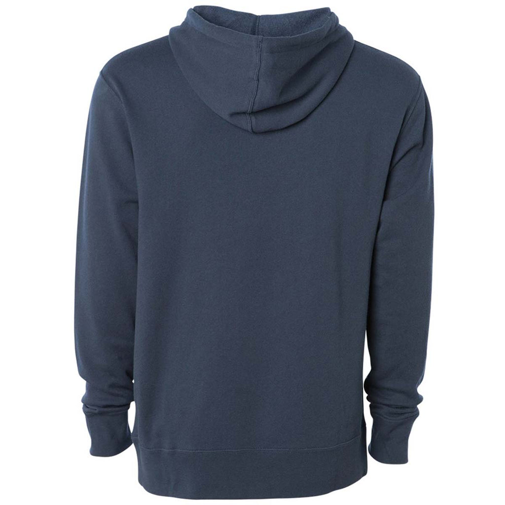 Independent Trading Co. Unisex Slate Blue Hooded Pullover