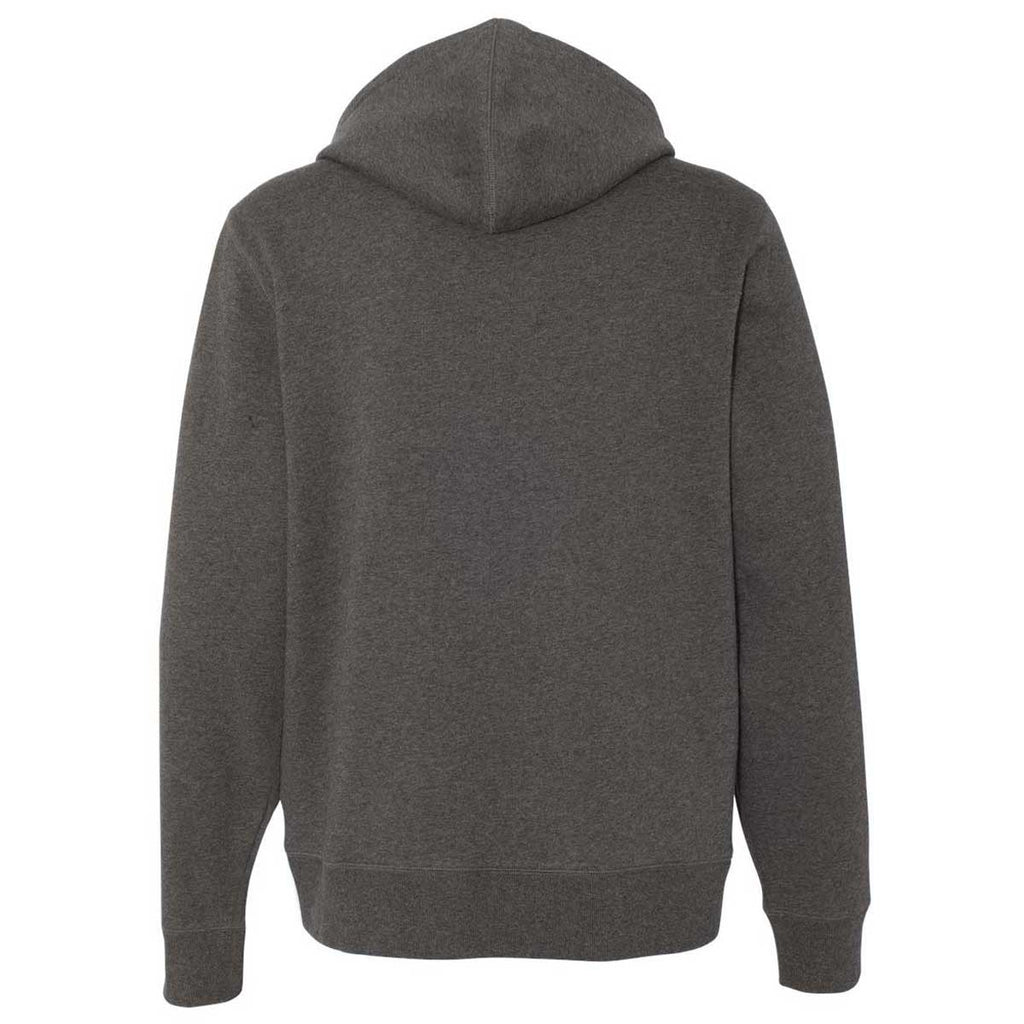 Champion Men's Charcoal Heather Originals Sueded Fleece Pullover Hoodie