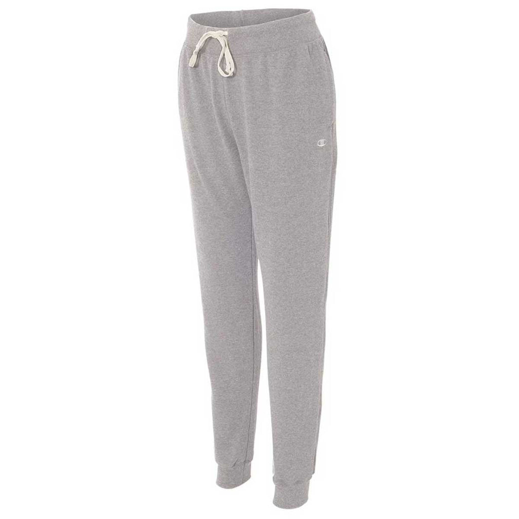 Champion Women's Oxford Grey Originals French Terry Jogger