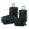american-tourister-black-four-piece-set