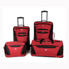 american-tourister-red-four-piece-set