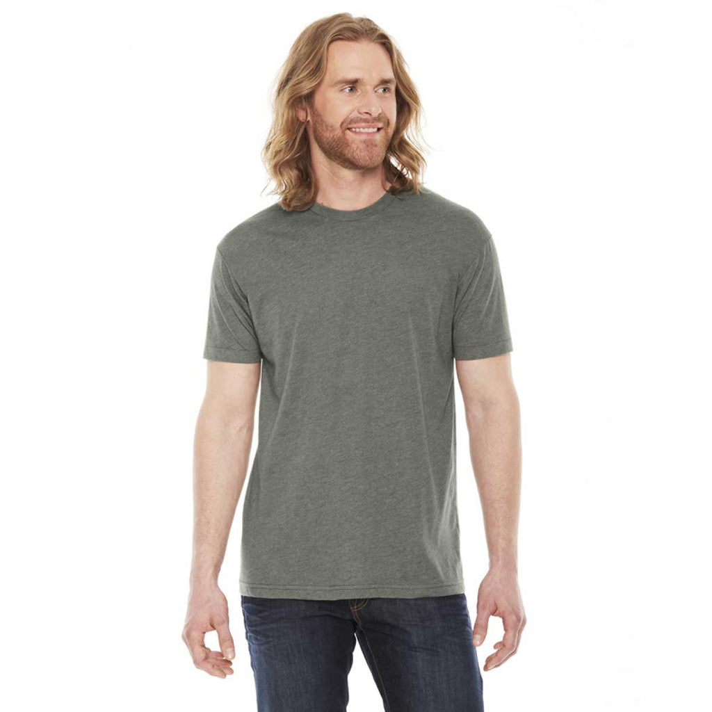 American apparel unisex heather lieutenant 50 50 short for American apparel custom t shirts