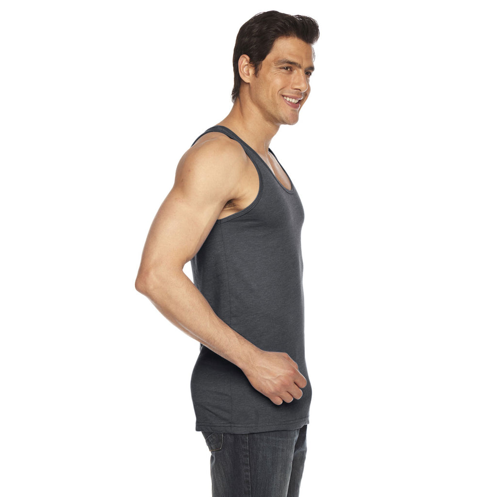 American Apparel Unisex Asphalt Poly-Cotton Tank