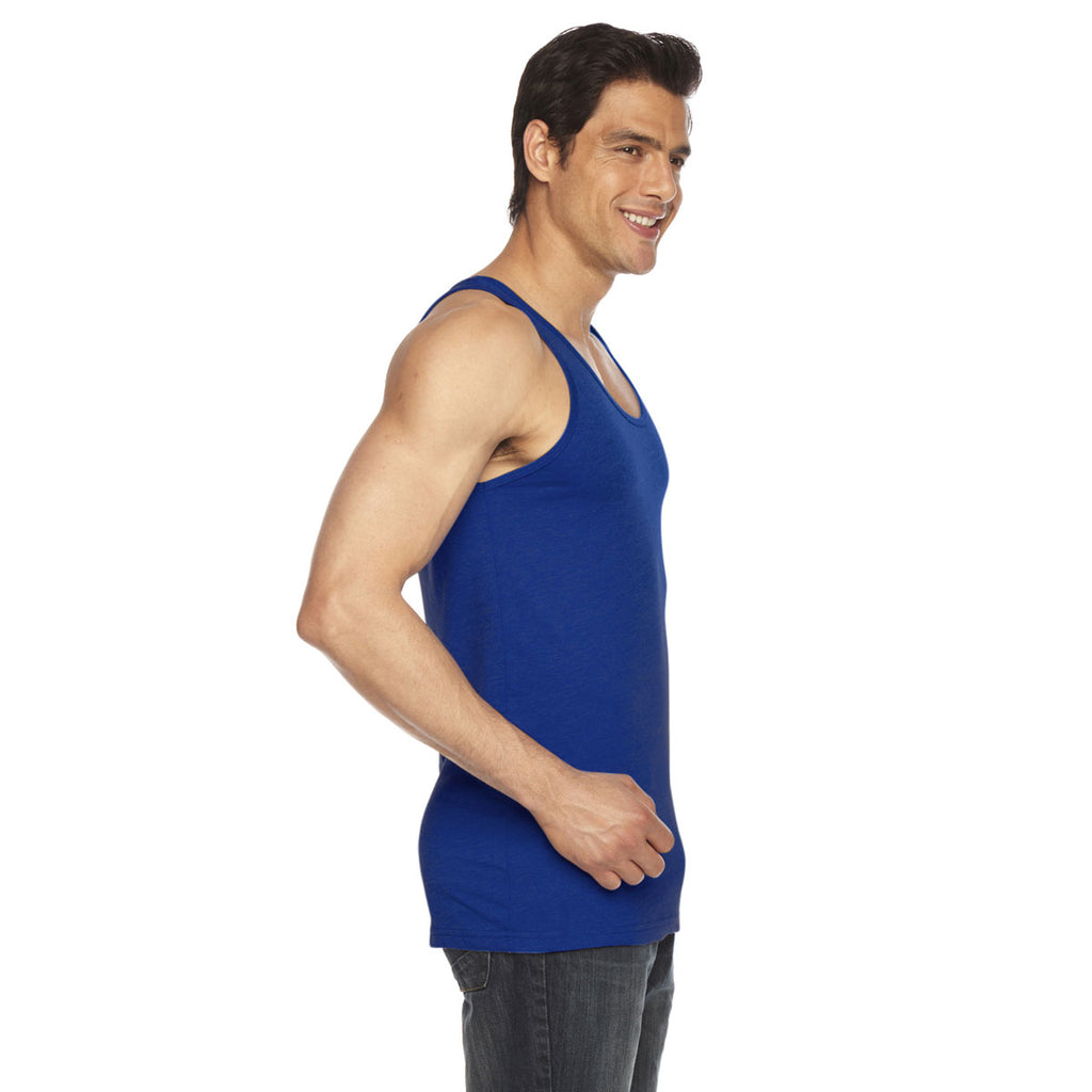 American Apparel Unisex Lapis Poly-Cotton Tank