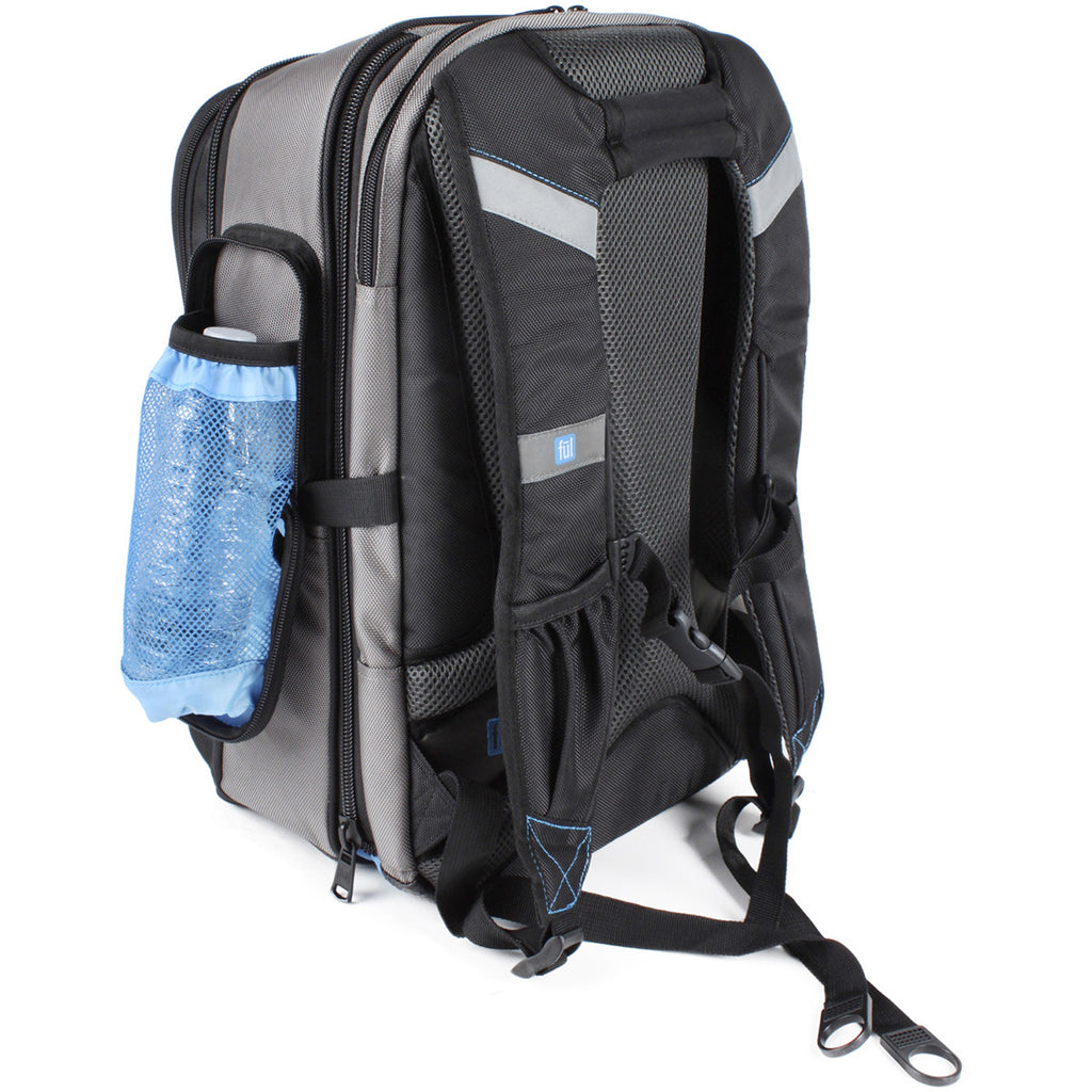 FUL Alleyway Titanium/Black #Cruncher Backpack