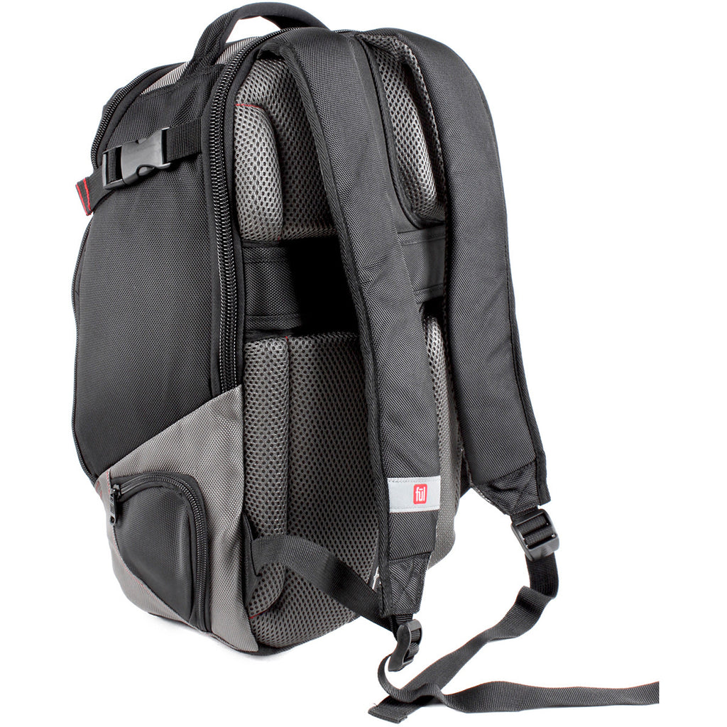 FUL Alleyway Black/Titanium Boot Legger Backpack