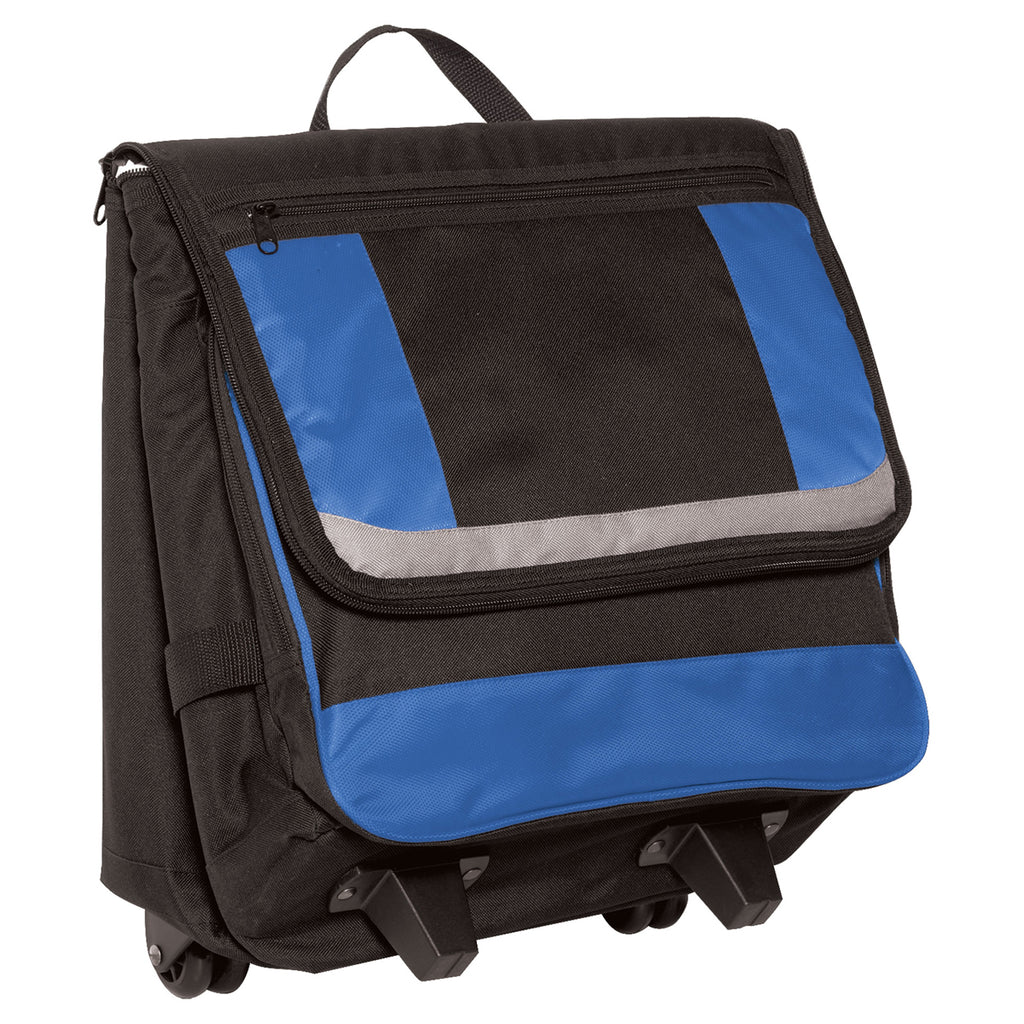 Port Authority Twilight Blue Rolling Cooler