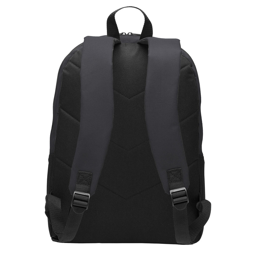 Port Authority Dark Charcoal Value Backpack
