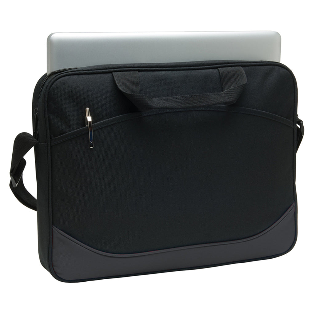 Port Authority Dark Charcoal Value Computer Case