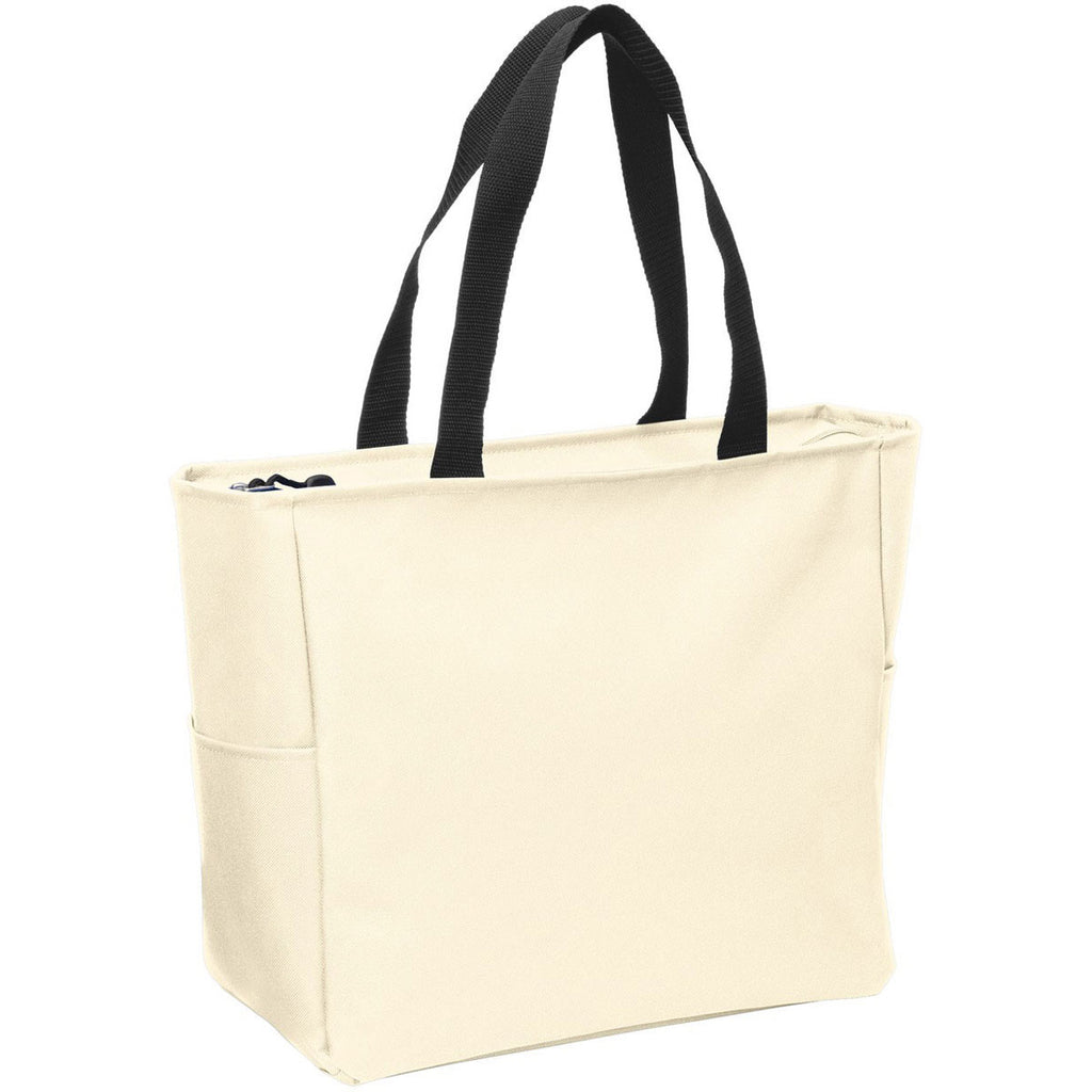 Port Authority Stone Essential Zip Tote