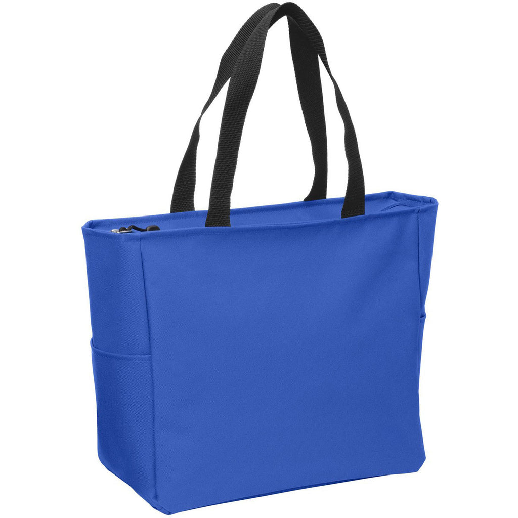 Port Authority True Royal Essential Zip Tote
