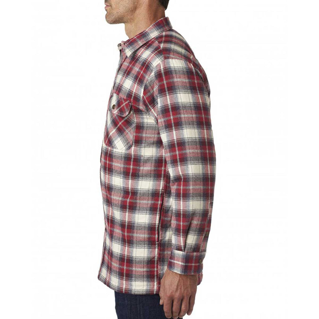 Backpacker Men's Independent Flannel Shirt Jacket with Quilted Lining