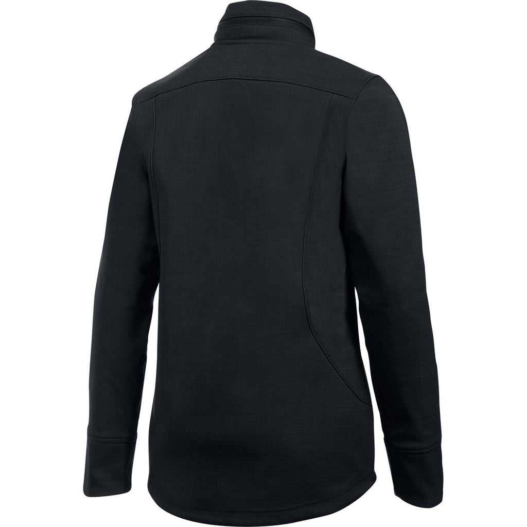 Under Armour Women's Black Barrage Soft Shell Jacket