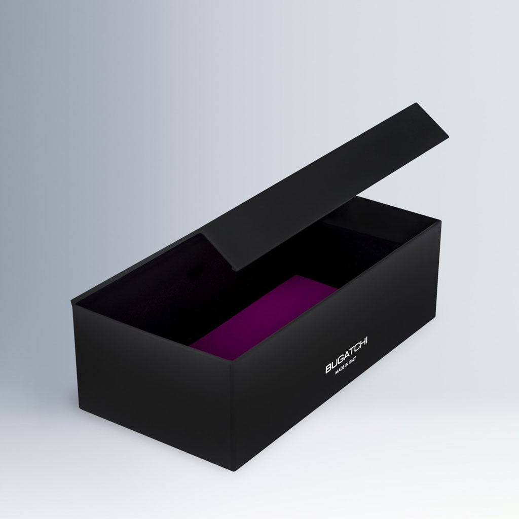 Bugatchi Men's Midnight Sock Box Trio
