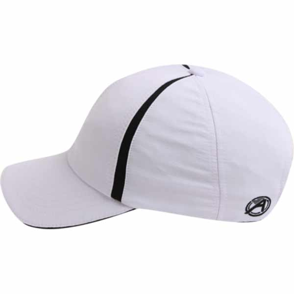 AHEAD Textured White/Black Poly Active Sport Cap