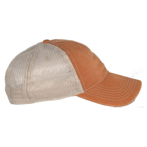 AHEAD Rust/Tan Tea Stained Mesh Back Cap