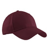 c608-port-authority-burgundy-cap