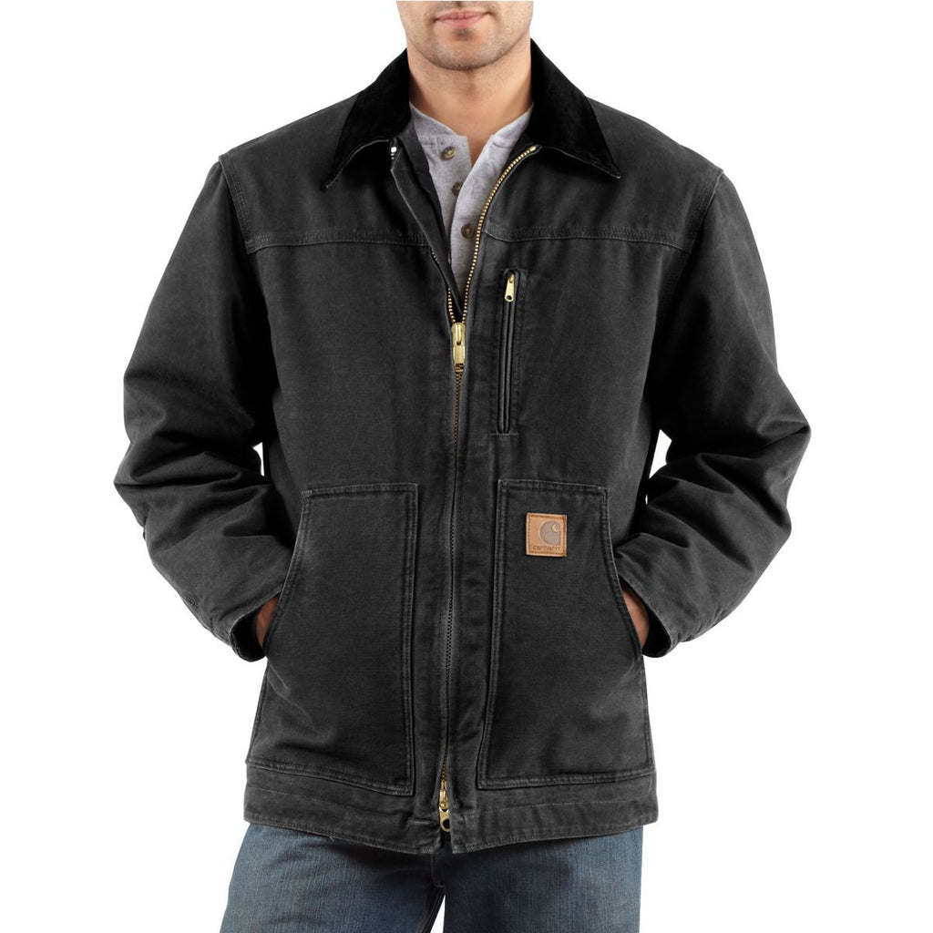 Carhartt Men's Black Ridge Coat