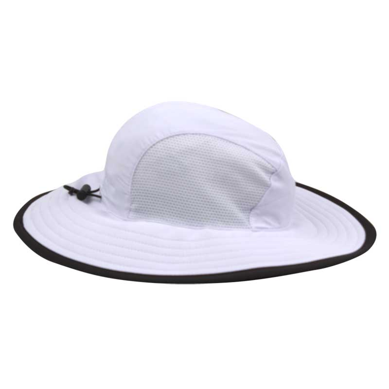 Ahead White/Black The Player Sun Hat