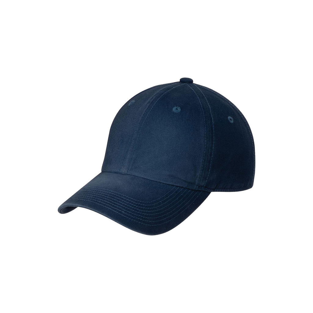 15782ee7 Port Authority Navy Spray Wash Cap. ADD YOUR LOGO