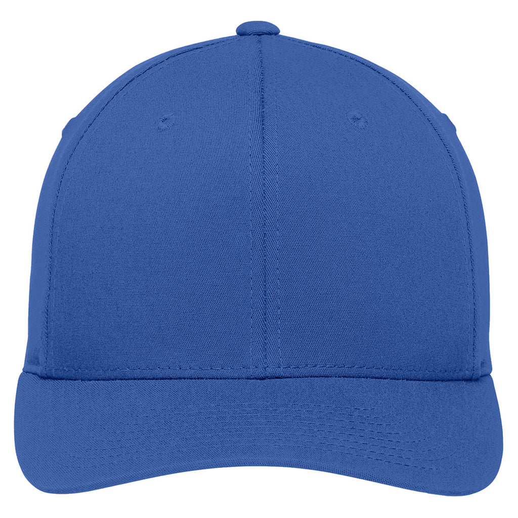 Port Authority True Royal Flexfit Cotton Twill Cap