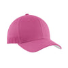 port-authority-pink-twill-cap