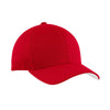 port-authority-red-twill-cap