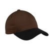 c815-port-authority-brown-twill-cap