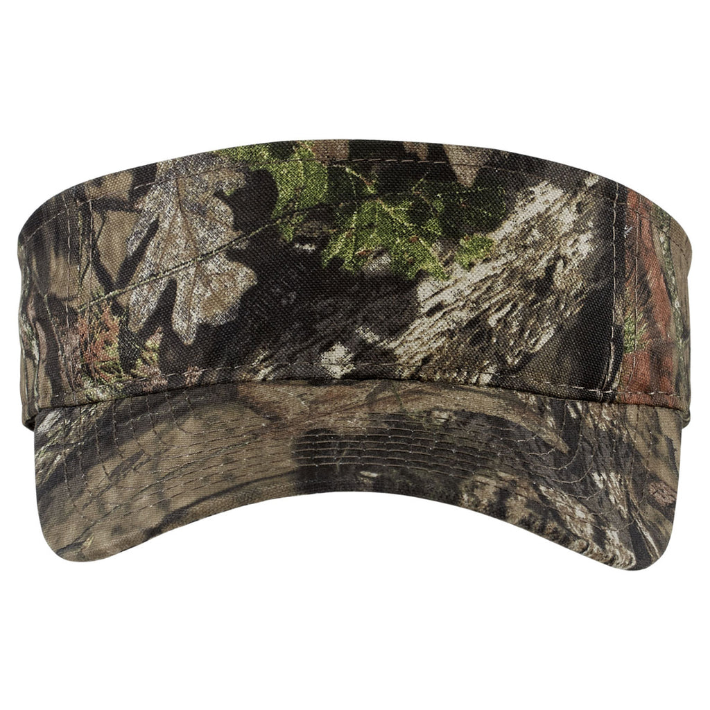 Port Authority Mossy Oak Break-Up Country Camouflage Visor