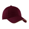 c830-port-authority-burgundy-cap