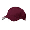 c833-port-authority-burgundy-mesh-cap