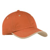 port-authority-orange-stitch-cap