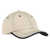 port-authority-beige-stitch-cap