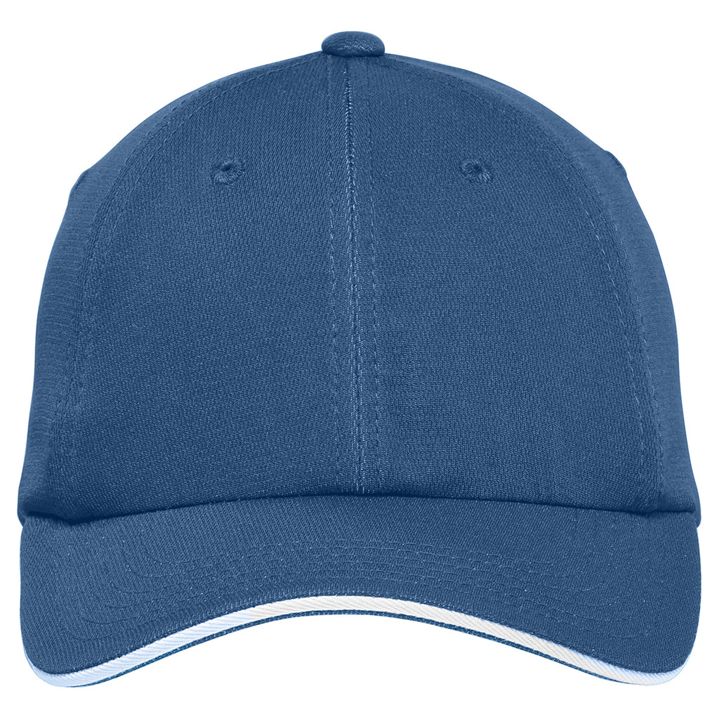 Port Authority Denim/ White Dry Zone Cap