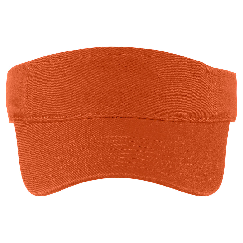 Port Authority Cooked Carrot Fashion Visor