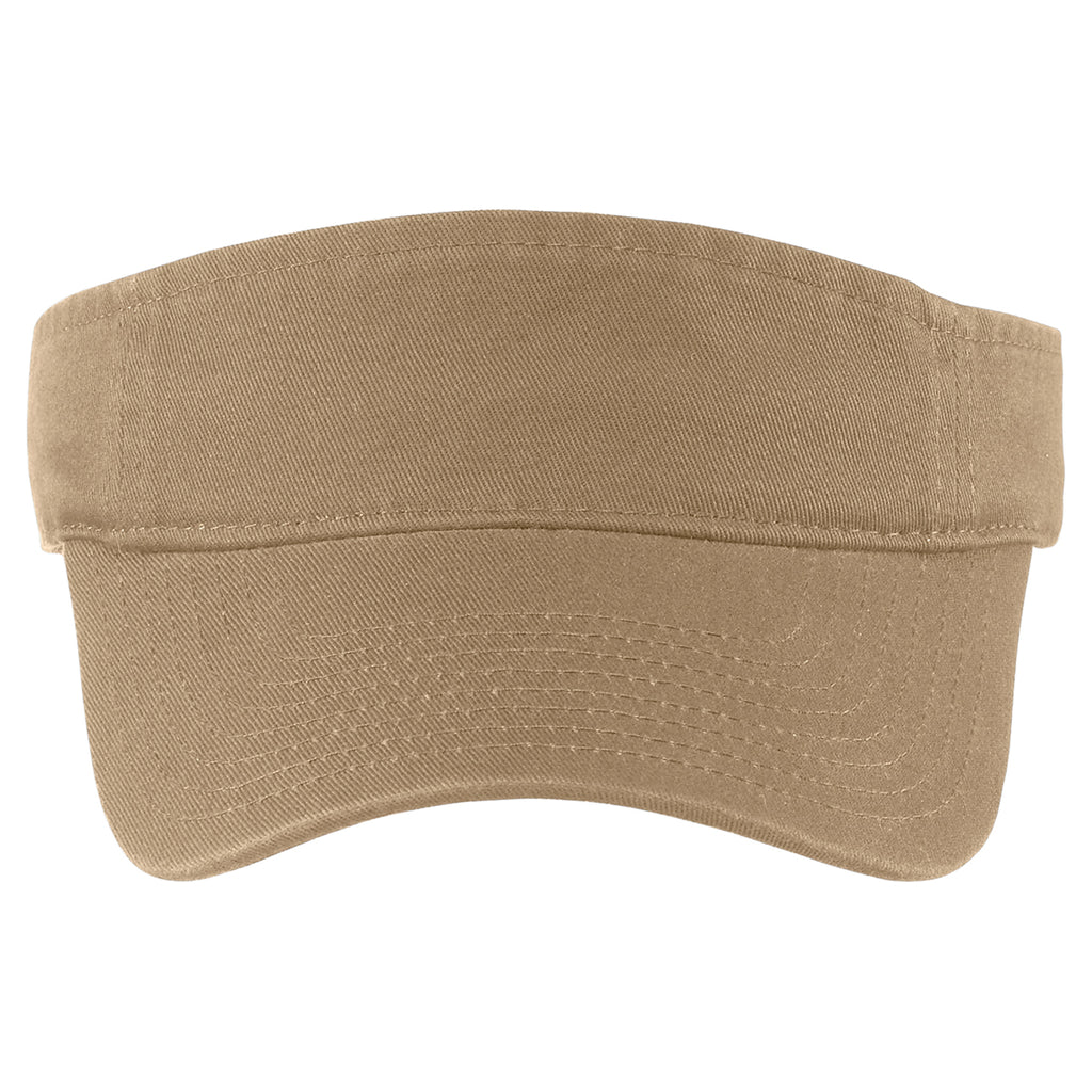 Port Authority Khaki Fashion Visor