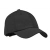 c850-port-authority-charcoal-sueded-cap