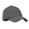 c850-port-authority-grey-sueded-cap