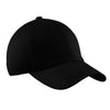 c861-port-authority-black-unstructured-cap
