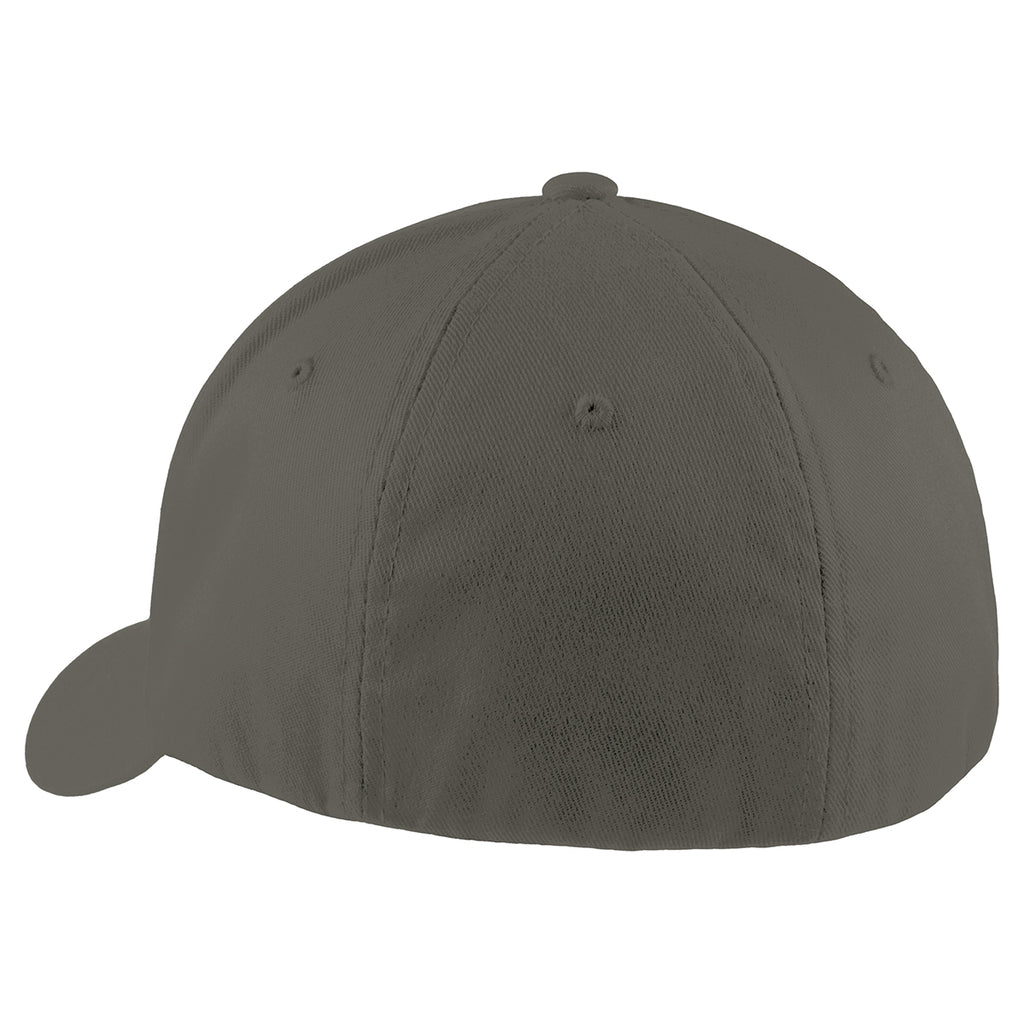 Port Authority Dark Grey Flexfit Cap