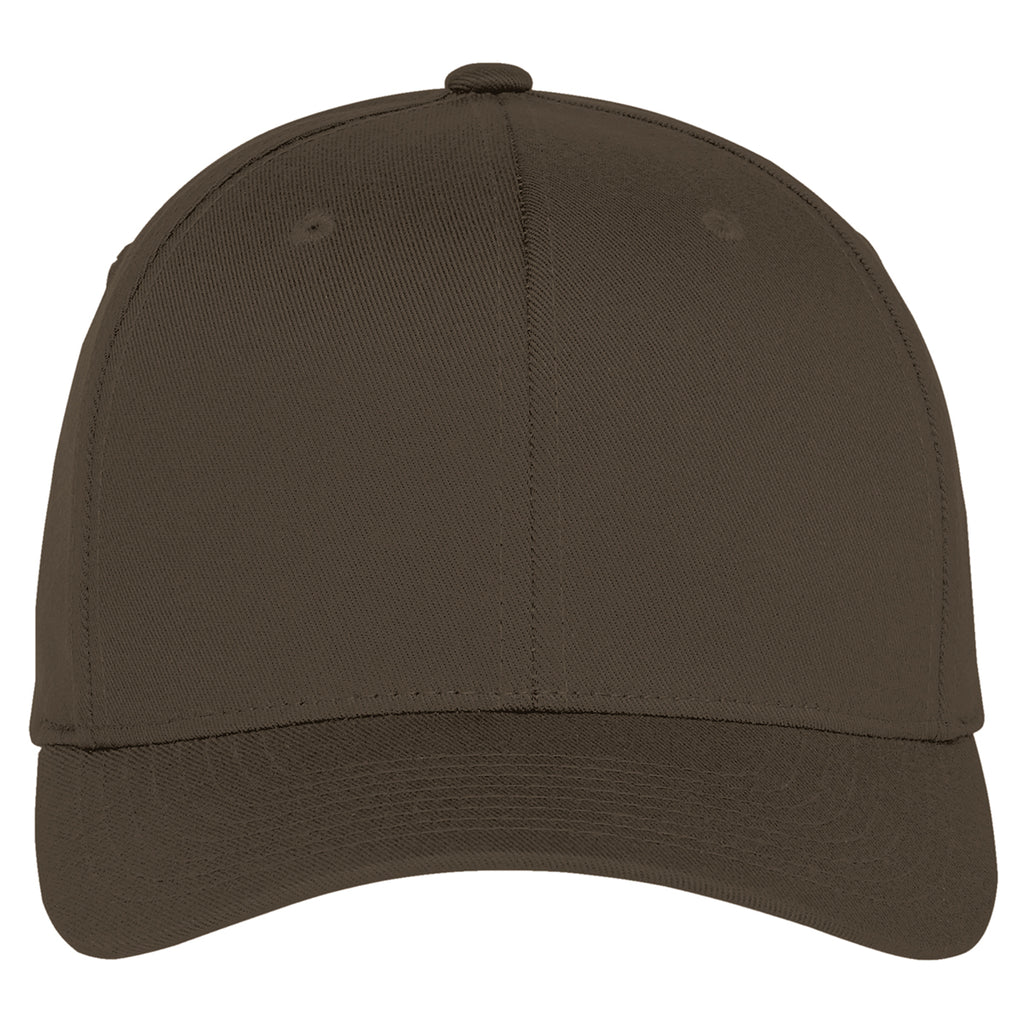 Port Authority Brown Flexfit Cap