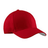 port-authority-red-flexfit-cap