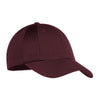 c866-port-authority-burgundy-cap