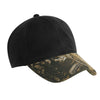 c877-port-authority-black-waxed-cap