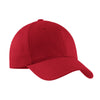 c879-port-authority-red-structured-cap