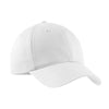 c879-port-authority-white-structured-cap